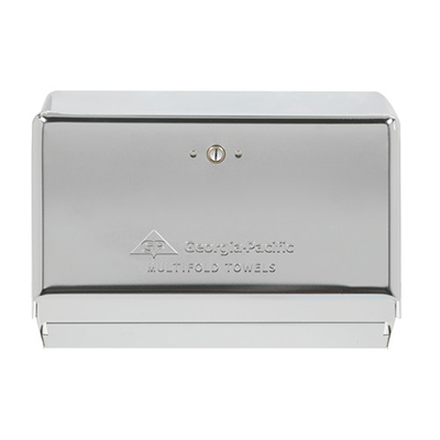 Georgia-Pacific® Multifold Towel Space Saver Dispenser - Chrome