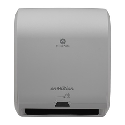 GP enMotion® Automated Touchless Roll Paper Towel Dispenser - Gray