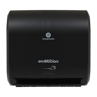 GP enMotion® Impulse® Automated Touchless Roll Paper Towel Dispenser - Black