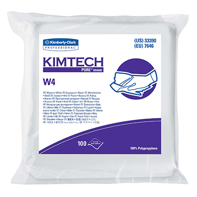 Kimtech Pure* W4 Dry Wipers - 9in x 9in
