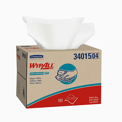 Wypall* X60 Wipers - 12.5 x 16.8in, Box
