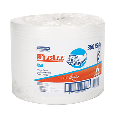 WypAll* X50 Wipers - 9.8in x 13.4in
