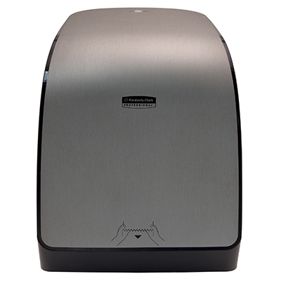 K-C Professional* Mod* Electronic Hard Towel Dispenser - Grey Code, Faux Stainless