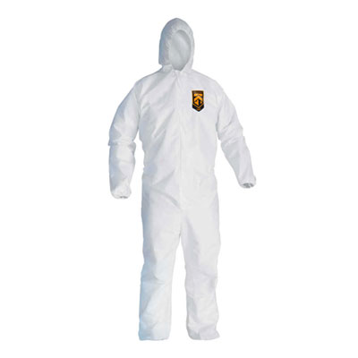 Kleenguard® A20 Breathable Particle Protection Coveralls with Hood