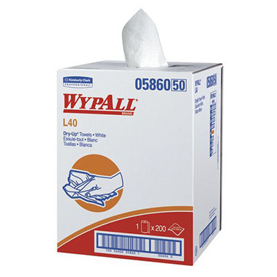 WypAll* L40 Dry-Up Towels - 19.5in x 42in