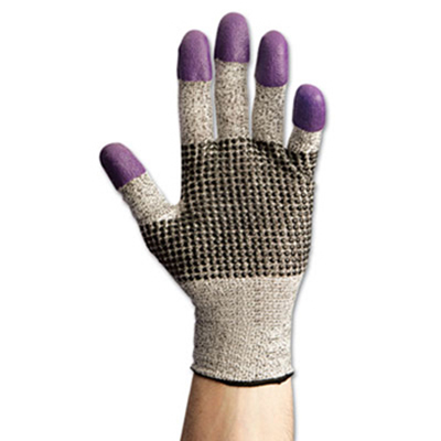 Jackson Safety* G60 Purple Nitrile Cut Resistant Gloves, Level 3, 24 pairs