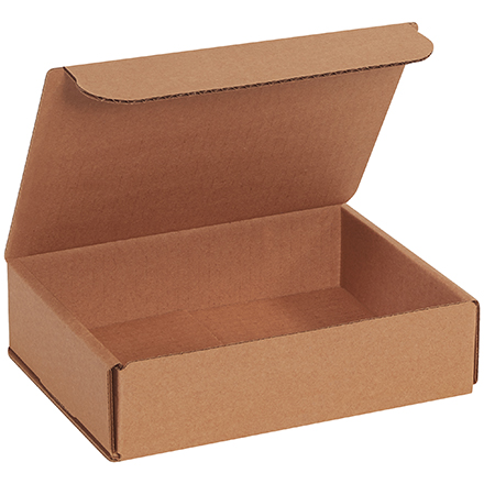 "Corrugated Mailer - 8"" x 6"" x 2"", Kraft, 50/Case"