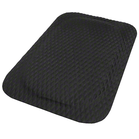 Hog Heaven Anti-Fatigue Indoor Mat - Black, Black Border, 2' x 3', 7/8""