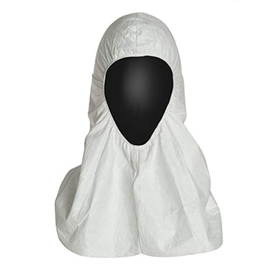 Dupont™ Tyvek™ TY657s Pullover Hood, White, One-Size, 100 hoods