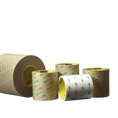 3M™ Adhesive Transfer Tape 9472LE, Clear, 5.2 mil, 2 in x 60 yd, 6 rolls