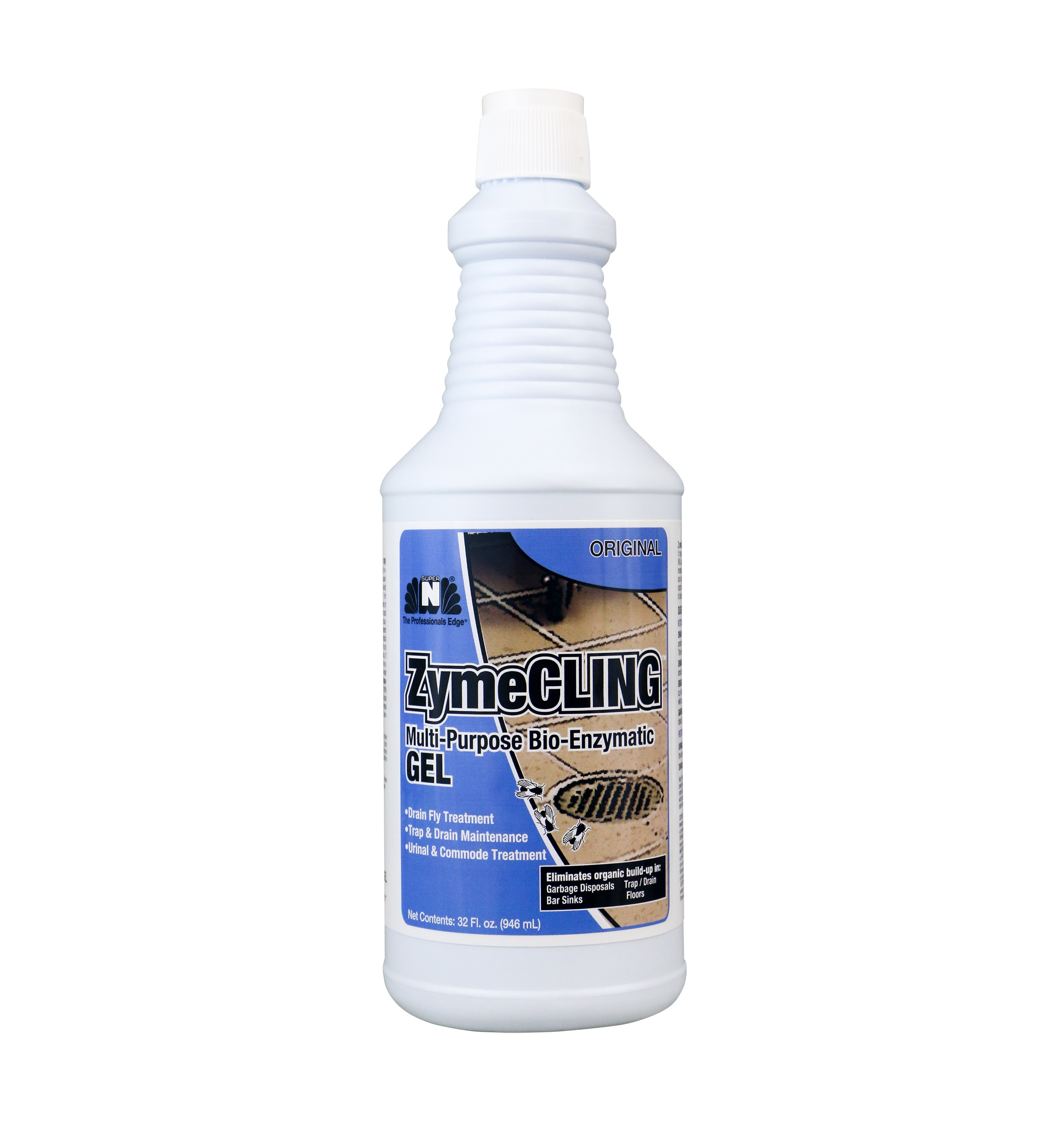 ZymeCLING Multi-Purpose Bio-Enzymatic Gel - 32oz, 6/Case