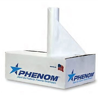 Phenom™ LLDP Can Liners - 33 gallons, 0.55mil, Clear