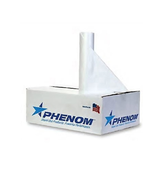Phenom™ Premium LLDP Can Liners - 40 to 45 gallons, 0.9mil, Clear
