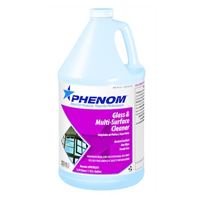 Phenom™ Glass & Multi-Surface Cleaner - 1 gallon