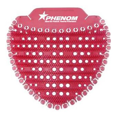 Phenom™ Flat Urinal Screen - Red, Apple Spice