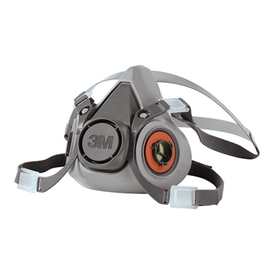 3M™ Half Facepiece Reusable Respirator, 6000 Series, Medium, 1 masks