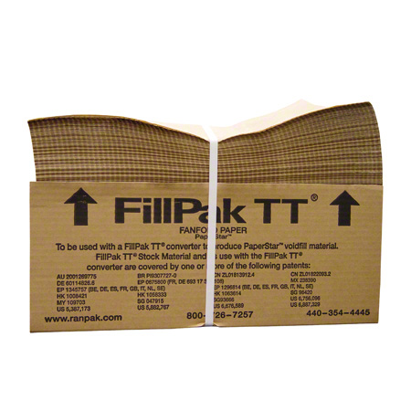 Ranpak® FillPak TT Fanfold Paper - 1-Ply 30 lb., 15in x 1660ft, 65 BN/Skid