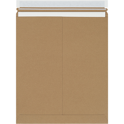 "Kraft Self-Seal Mailer - 12.75"" x 15"", 0.028"", 100/Case"