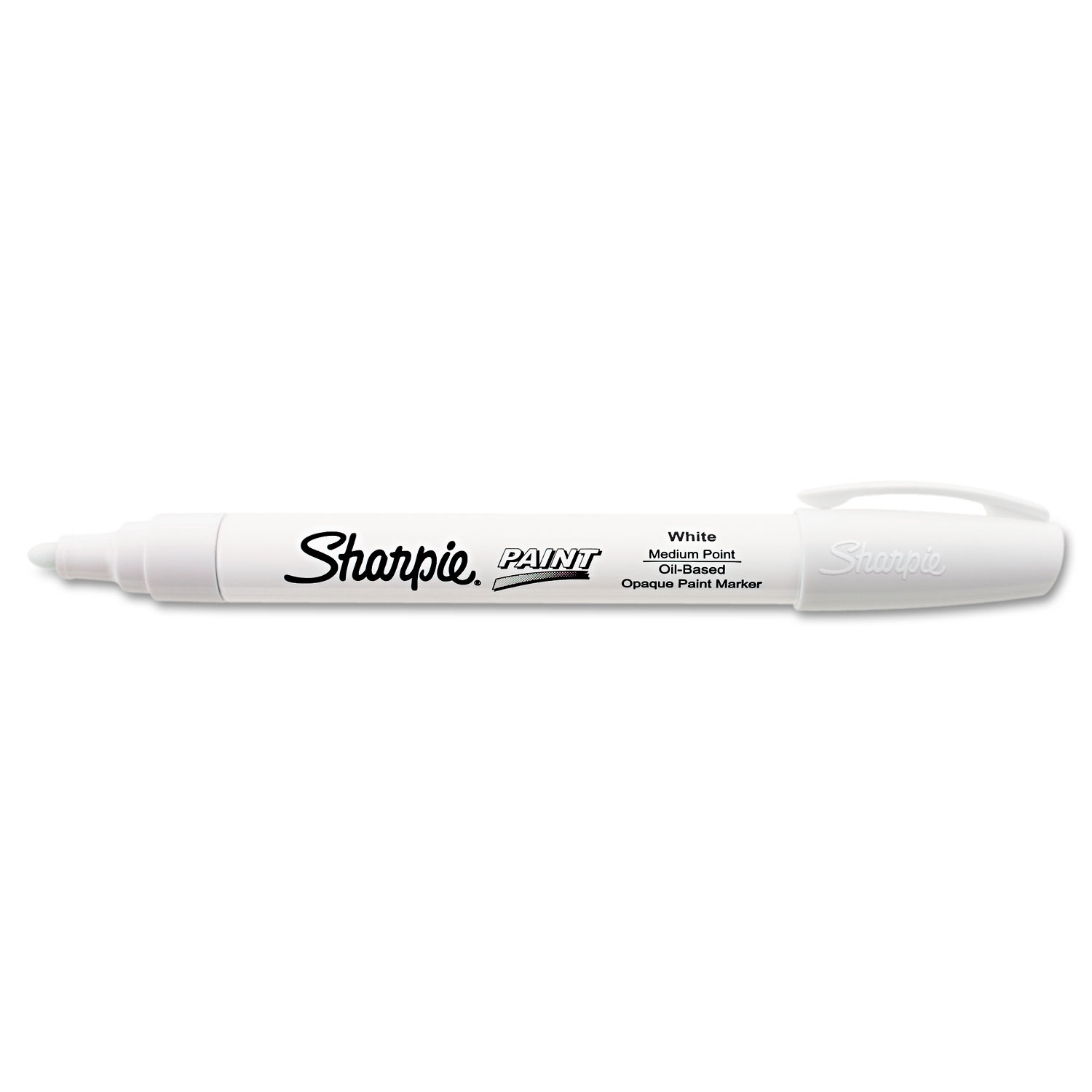 Sharpie® Paint Permanent Marker - Medium Bullet Tip, White