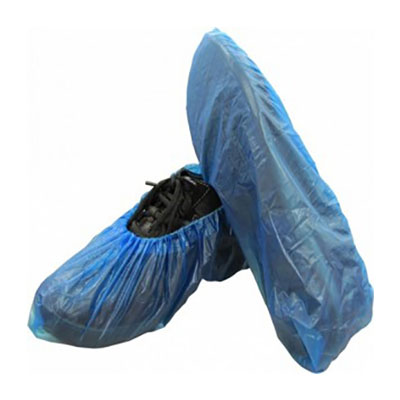 Moisture Resistant Shoe Cover, CPE, 2000 covers