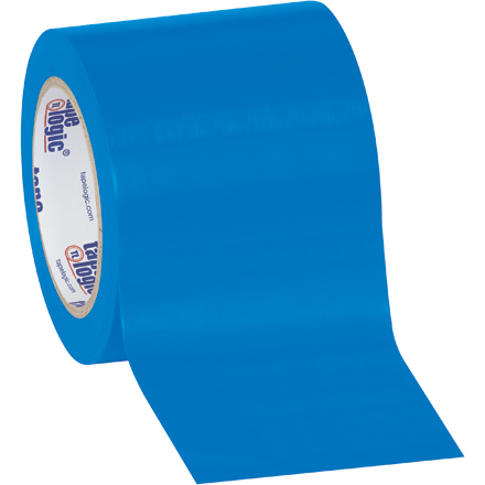 Tape Logic® Vinyl Safety Tape - 4in x 36yds x 6mil, Blue